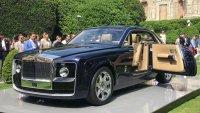 Путин подари уникален Rolls-Royce на любимата