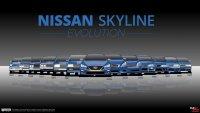 Как се развиваше легендата Nissan Skyline през годините