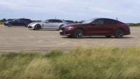 Новото BMW M8 срещу Audi RS6, Mercedes-AMG E63 и Panamera Turbo S