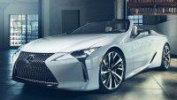 Кабриолетът Lexus LC дебютира в Гуудууд