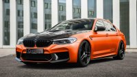 BMW M5 ускорява като Bugatti Veyron