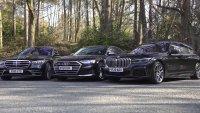 Mercedes S-Class, BMW 7-Series или Audi A8 - кой е най-добрият?
