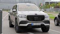 Mercedes-Maybach GLS свали камуфлажа