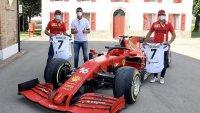 Кристиано Роналдо отиде на гости на Ferrari