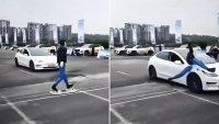 Tesla Model 3 се провали на тестове за аварийно спиране