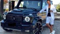 Роналдо се похвали с подарък от жена си – G-Class