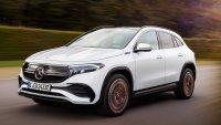 Mercedes-Benz представи втория си електрически кросоувър