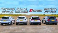 Топ-кросоувърите на Audi, Bentley, Lamborghini и Porsche – кой е най-бърз?