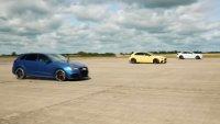 Компактни ракети: BMW M2 CS срещу Audi RS3 и Mercedes-AMG A45 S