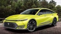 Лукзозен седан на Toyota става крос-купе