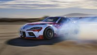 Toyota направи автономна Supra за дрифт