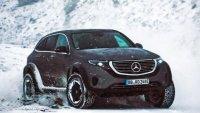 Как се справя електрическият Mercedes-Benz на тежък терен