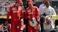 Ferrari ще се бори с наказанието на Фетел