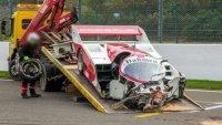 """Porsche за 1.2 млн долара беше разбито на """"Спа"""""""