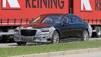 Новият Mercedes S-Class сваля камуфлажа