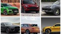 Това са най-бързите SUV на пазара