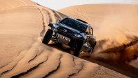Toyota представи състезателен всъдеход с мотор от Land Cruiser 300