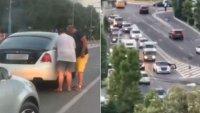 Rolls-Royce Wraith остана без бензин на оживено кръстовище