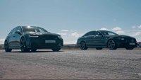 Комби или седан - новото Audi RS6 срещу Мercedes-AMG E63