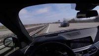 """BMW X5 M50d не успя да """"хване"""" Audi A7 на магистрала"""