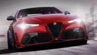 Пилот от F1 прави последните настройки на  Alfa Romeo Giulia GTA