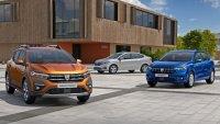 Dacia Logan и Sandero Stepway получиха ниски оценки за безопасност