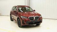 Обновеното BMW X3 беше разкрито в Китай