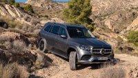 Вижте как се справя новият Mercedes-Benz GLS извън пътя