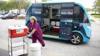 Безпилотни коли помагат в борбата с вируса