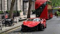 Британски рапър разби Ferrari за 250 000 паунда