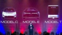 Производителят на iPhone представи 3 електромобила наведнъж
