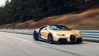 Bugatti тества новата версия на Chiron с 440 км/ч