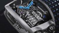 Bugatti пусна часовник с W16 двигател