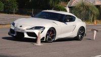 """Как се справи новата Toyota Supra с """"Лосовия тест""""?"""