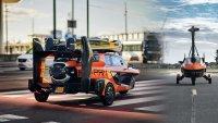 Летящ автомобил получи сертификат за движение в Европа
