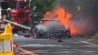 Тъжен ден - изгоря още един култов автомобил