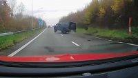 """Звезда на """"Арсенал"""" разби зрелищно своя Mercedes-AMG G 63"""