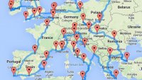 Учен изчисли идеалния маршрут за обиколка на Европа