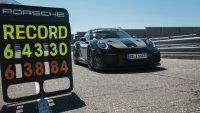 """Porsche 911 GT2 RS подобри рекорда на """"Нюрбургринг"""""""