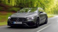 Mercedes представи трети модел AMG 45