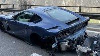 Пиян и дрогиран шофьор потроши Ferrari на футболен бос
