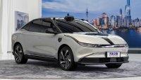 Китайци направиха първия автомобил с 3 лидара