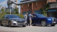 Може ли Mercedes-Maybach S-Class най-накрая да се конкурира с Rolls-Royce Phantom?