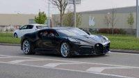 Най-скъпото Bugatti излезе на пътя