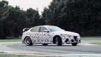 Пилоти от Ф1 тестват най-мощната Alfa Romeo