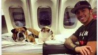 Хамилтън прати самолет за кучето си