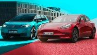 Volkswagen ID.3 разказа играта на Tesla Model 3 в Европа
