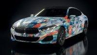 Изкуствен интелект прави изкуство от BMW