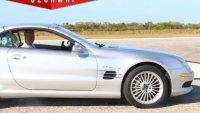 Колко вдига Mercedes-Benz SL55 AMG без ограничител на скоростта