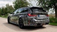 BMW за първи път показа комбито M3